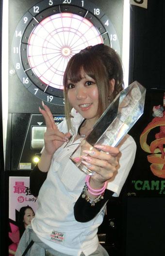 2014年度 最強女王 佐々木 沙綾香さん