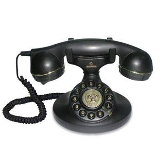 Vieux téléphone vintage pour la page Contact d'Isabelle Vionnet, Architecte d'intérieur UFDI