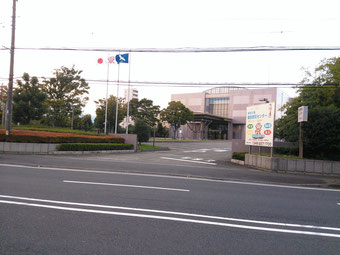 神奈川県総合防災センターの外観