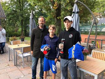 Sieger Herren: Luke Schulz u. Nils Pottbecker