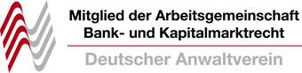 Deutscher Anwaltverein Arbeitsgemeinschaft Bankrecht Kapitalmarktrecht Anwalt Darmstadt