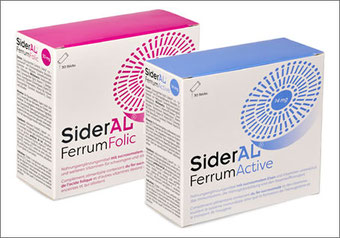 SiderAL Ferrum Folic + Active Sticks