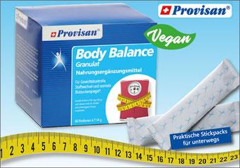 Mit Provisan® Body Balance zum Wunschgewicht