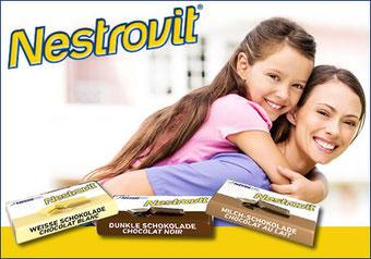Nestrovit® Weisse-, Dunkle-, Milch Schokolade