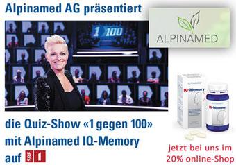 ALPINAMED® IQ-Memory-Kapseln 20% Online-Shop