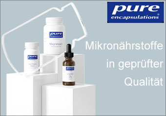 pure encapsulations® Mikronährstoffe in geprüfter Qualität