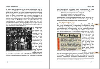 Links: Jugendweihe 1964  Rechts: 15 Jahre DDR