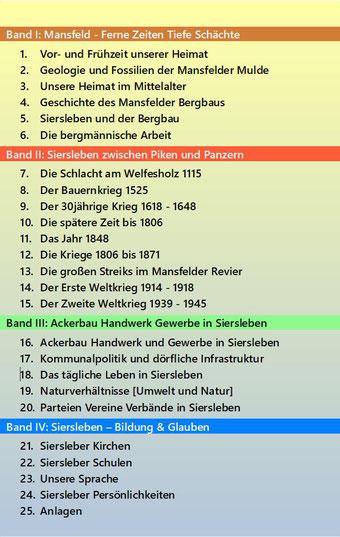 Chronik von Siersleben Buch I Rücktitel