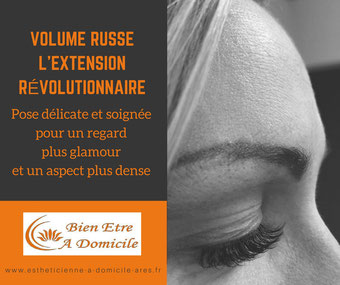 Extension de cils volume russe nord bassin ares