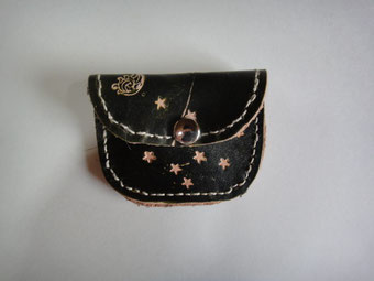 leather wallet of coin purse   ¥2000