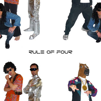 Rule of Four band photo