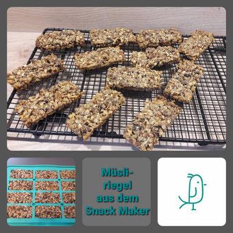 Müsliriegel aus dem Snack-Maker von Pampered Chef®