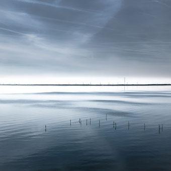 """OCEAN BLUE I"", 2014, Michael Sander, Cycle, touched landscapes, artist, tOG, Dusseldorf, take OFF GALLERY, Düsseldorf, Photography, FotoGrafik, Fotografie, Duesseldorf Photo Weekend,"