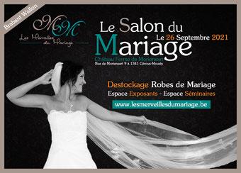 Salon du Mariage Les Merveilles du Mariage 26 Septembre 2021