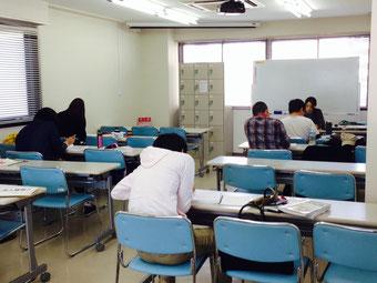 ☆修了日前の授業の風景です☆
