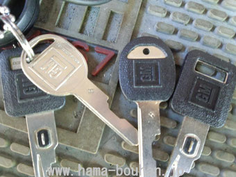 Make door&ignition keys