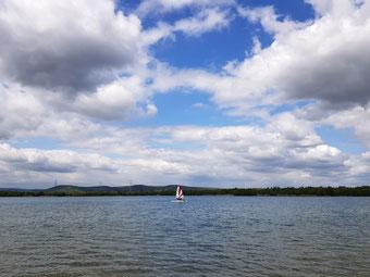 XCAT-Segelreviere fürs mobile Segeln | Singliser See (bei Kassel)