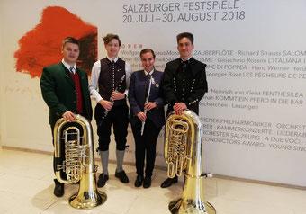 Die Teilnehmer aus dem Musikbezirk Birkfeld