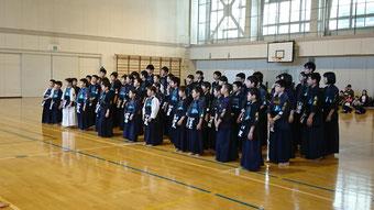 札幌西区の剣士の皆さん
