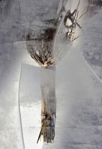 auf dünnem Eis (mixed media)