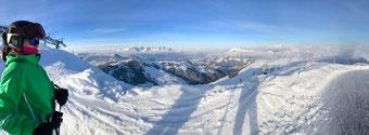 Skieinstand in Kitzbühel Kirchberg