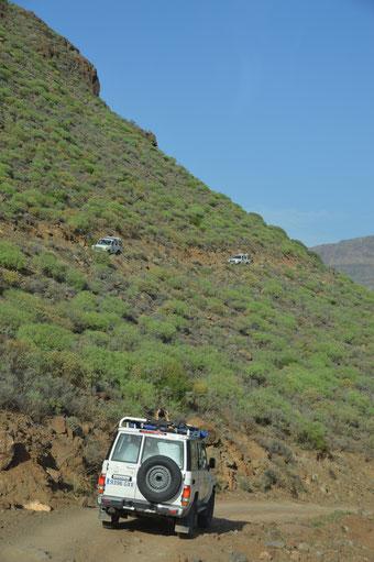 4WD-Erkundungstour über die Insel