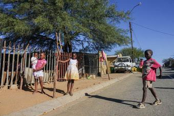 Katutura Damara, eines der Armenviertel Windhoeks.