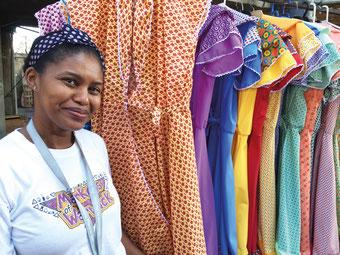 Durban-Market: Die Standbesitzer haben sich zum Sicherheits-Team zusammen geschlossen.