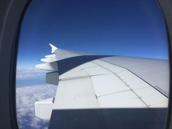 Anreise mit Emirates: Fliegen vom Feinsten!!!