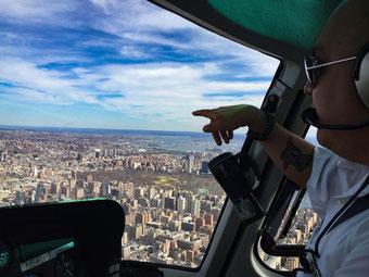 Unser Highlight: Der Hubschrauberrundflug über Manhatten.