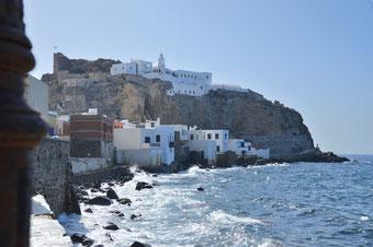 Die kleine Insel Nisyros mit der zauberhaften Kloster-Kapelle Panagia Spiliani.