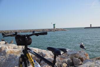 Rückenwind an der Algarve:  Unterwegs mit dem Rad.