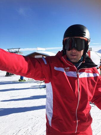 Markus Egger, Leiter der Skischule Oberndorf