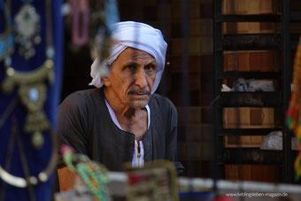 Händler im Bazar von Luxor