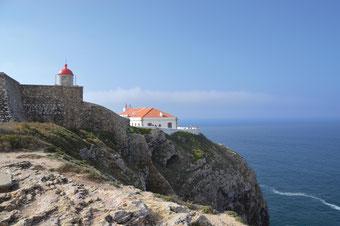 Der südwestlichste Punkt Europas: das Cabo de São Vicente (Kap Sankt Vinzenz)