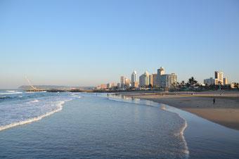 Der traumhafte Strand von Durban