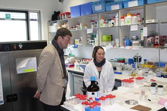 Thomas Marquardt und Vera Bleicher