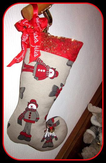 """Botte de Noel """" Joyeuses Fêtes """""""