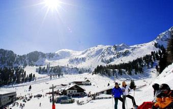 Заказ такси трансфер на горнолыжные курорты Италии