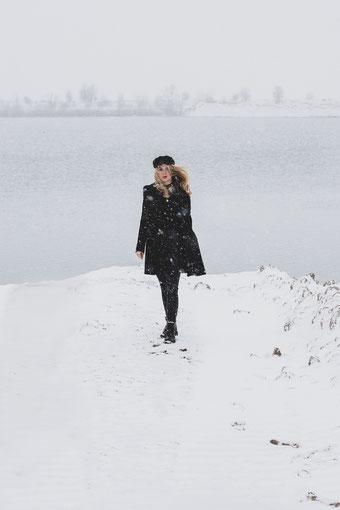 Portraitfotografie – Caro – Wintershoot