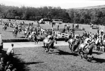 Letztes Militärpferderennen 1968