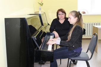 занятие фортепианного отделения