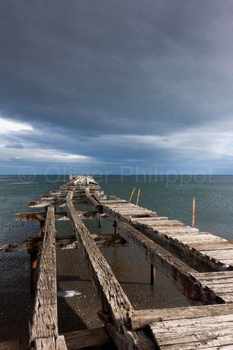 Ponton au bout du monde - Punta Arenas - Chili © Olivier Philippot