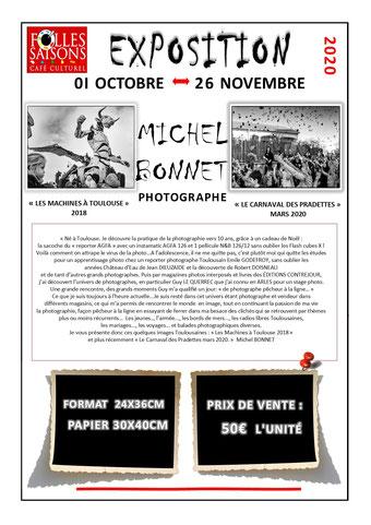 Exposition photographie Michel Bonnet Folles Saisons