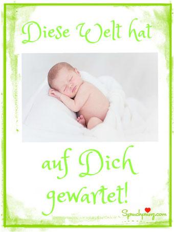 Zitate Glückwünsche zur Geburt