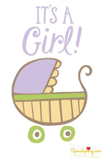 Glückwünsche zur Geburt einer Tochter Bild
