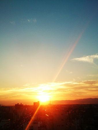 tokushima sunset*