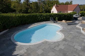 Olivia, Schwimmbecken, Pool, Becken, Garten
