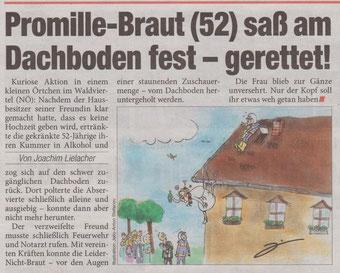 Tageszeitung HEUTE vom 20.09.2016