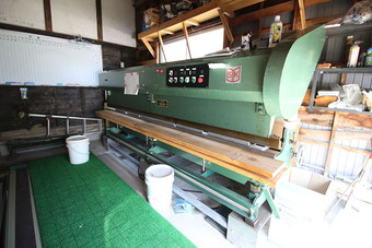 やねのヤマムラ(ヤマムラ板金 合同会社)の加工機械|板金曲機